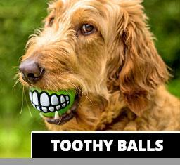 Toothy Ball - Aw Paws