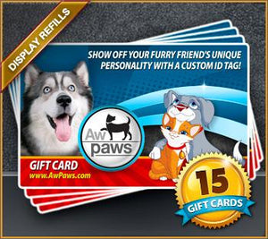 Gift Card Refills - 15 Pack