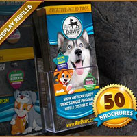 Brochure Refills - 50 - Aw Paws