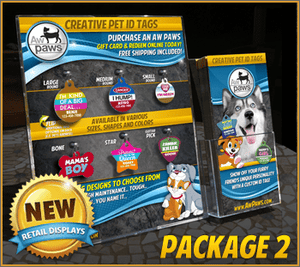 Retail Pet ID Display - Package 2