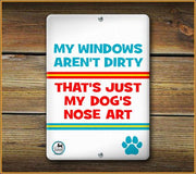 Nose Art PET SIGN - Aw Paws