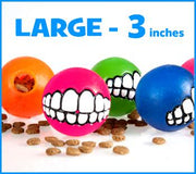LARGE - Toothy Ball - Color Varies - Aw Paws