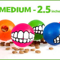 Medium - Toothy Ball - Color Varies - Aw Paws