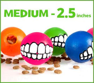 Medium - Toothy Ball - Color Varies