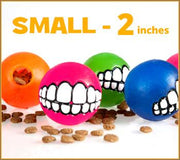 Small - Toothy Ball - Color Varies - Aw Paws