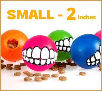 Small - Toothy Ball - Color Varies
