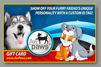 Gift Card - Aw Paws