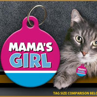 Mama's Girl Cat ID Tag - Aw Paws