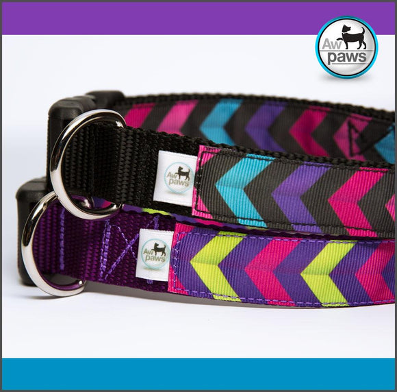 Chevron 1 - Dog Collar