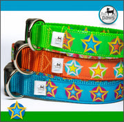 Stars 2 Dog Collar - Aw Paws