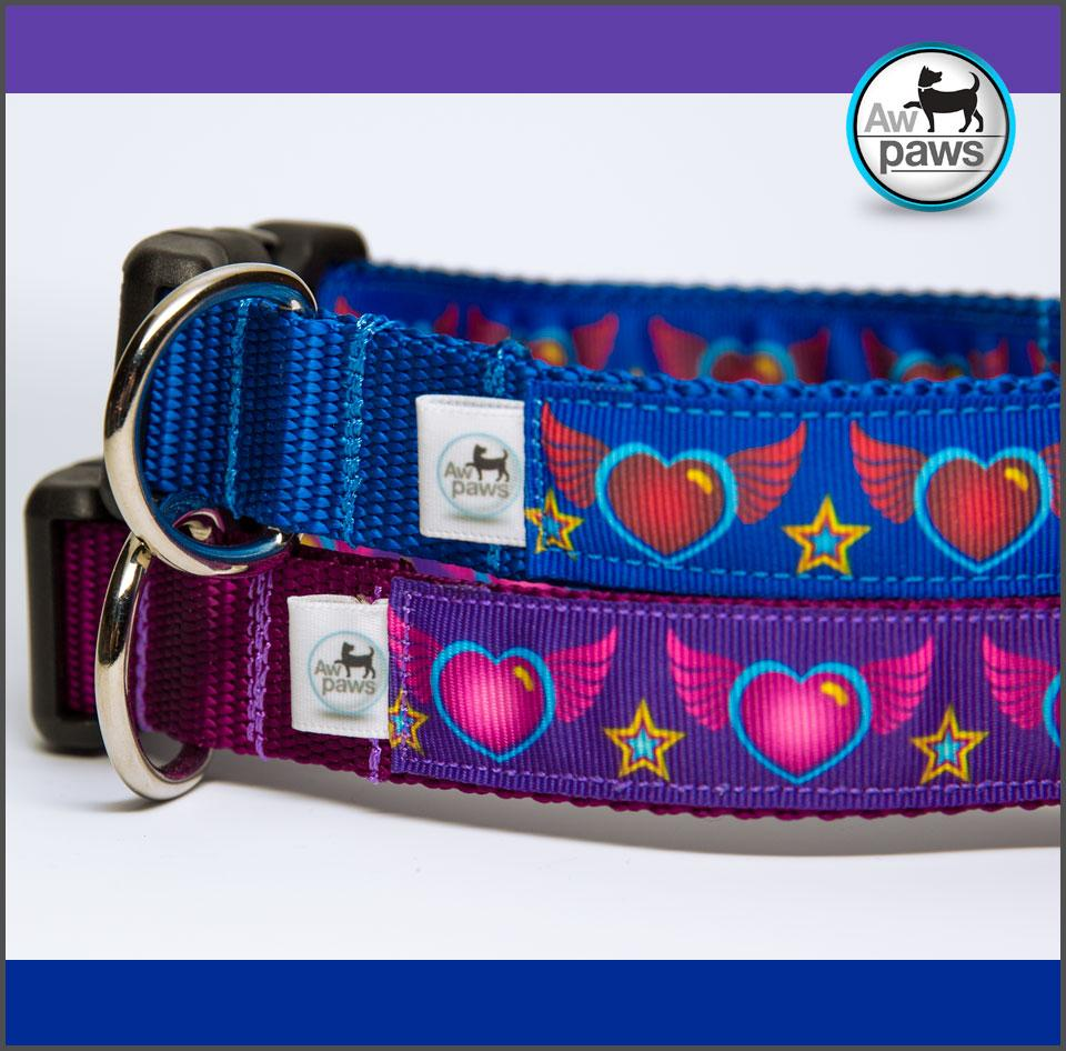 Heart Wings - Dog Collar