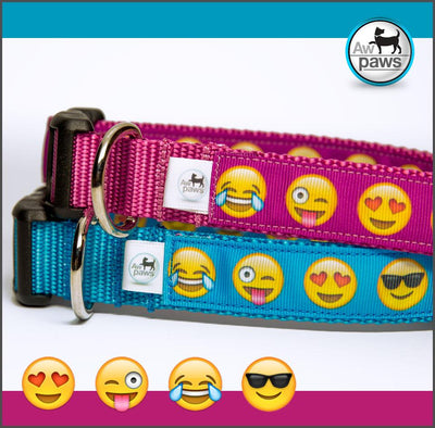 Emojis Dog Collar - Aw Paws