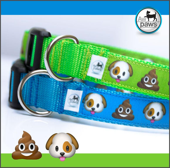 POO EMOJI - Dog Collar