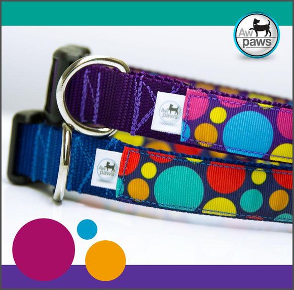 POLKA DOTS - Dog Collar