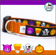 Halloween EMOJIS - Dog Collar