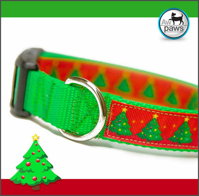 Christmas Tree Dog Collar