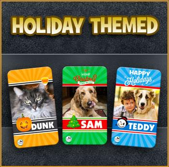 Holiday Pet Magnet