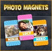 Photo Pet Magnet - Aw Paws