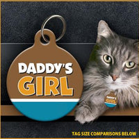 Daddy's Girl - Cat ID Tag
