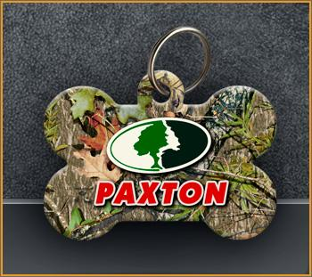 MOSSY OAK CUSTOM TAGS - PAXTON - Aw Paws