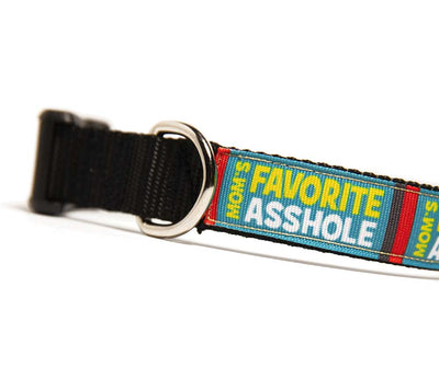 Mom's Favorite Asshole Dog Collar