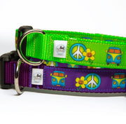 Peace Sign Dog Collar