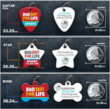 Bad Boy For Life - Pet ID Tag