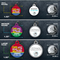 Get Your Nose Pet ID Tag - Aw Paws