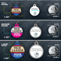 Pack Leader Pet ID Tag