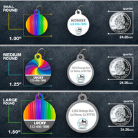 Rainbow - Pet ID Tag