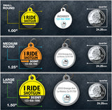 I Ride Shotgun - Pet ID Tag