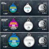 Houdini Dog - Pet ID Tag