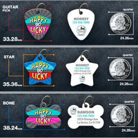 Happy Go Licky Pet ID Tag - Aw Paws