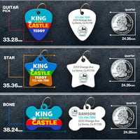 King of this Castle Pet ID Tag - Aw Paws