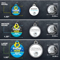 Phone Home Pet ID Tag - Aw Paws