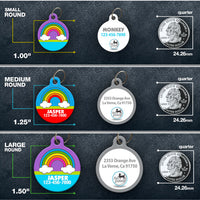 Rainbow 2 - Pet ID Tag