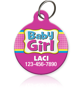 Baby Girl - Pet ID Tag