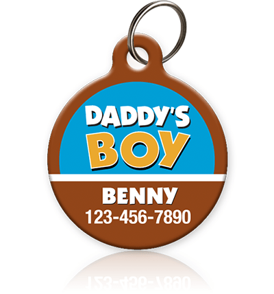Daddy's Boy - Pet ID Tag