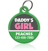 Daddy's Girl Pet ID Tag