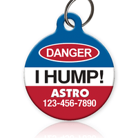 Danger I Hump - Pet ID Tag