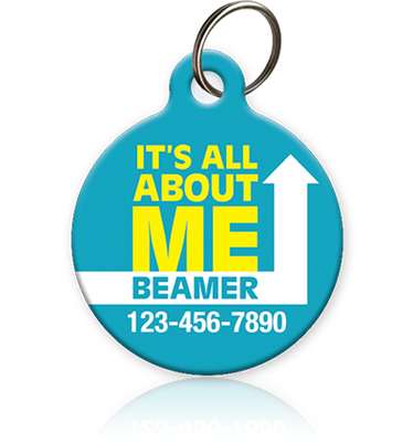 It's All About Me Pet ID Tag