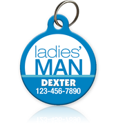 Ladies' Man - Pet ID Tag