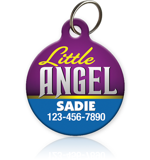 Little Angel Pet ID Tag