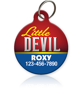 Little Devil Pet ID Tag