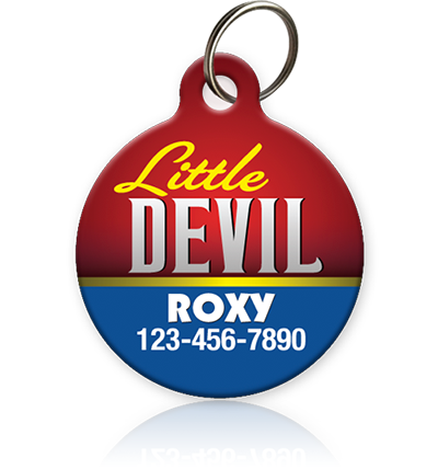 Little Devil - Pet ID Tag