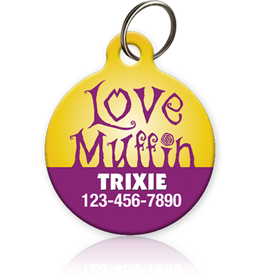 Love Muffin Pet ID Tag