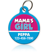 Mama's Girl Pet ID Tag