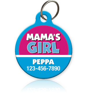 Mama's Girl - Pet ID Tag