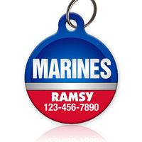 Marines Pet ID Tag - Aw Paws