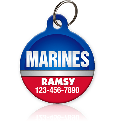 Marines - Pet ID Tag